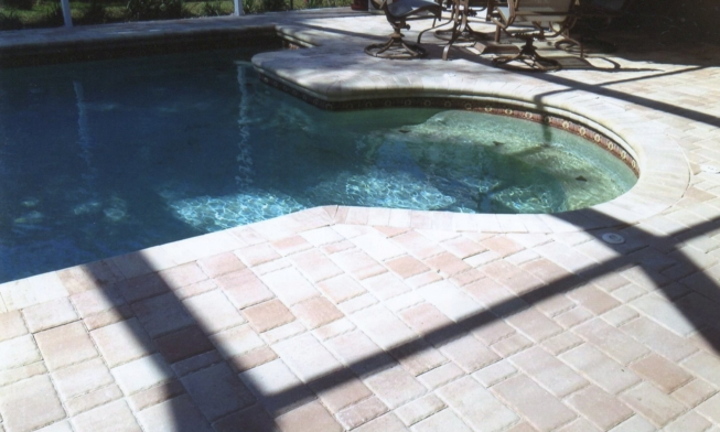 palma pool deck repaver project – sapino landscaping
